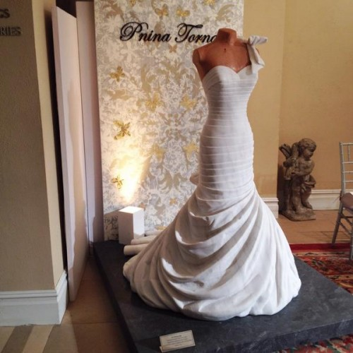 A MARBLE… WEDDING DRESS
