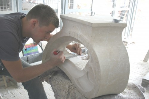 SCHOOL FOR STONEMASONS-TO-BE